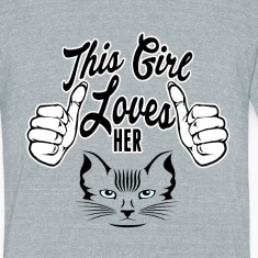 this girl love cat