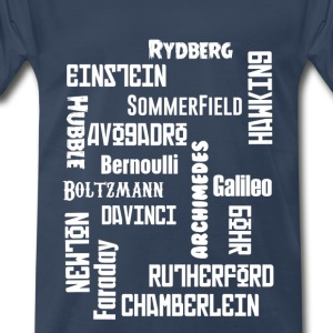 Fonts and Naming_SCIENTIST - Men's Premium T-Shirt