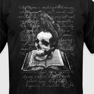 The Raven - Men's T-Shirt by American Apparel