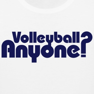 Volleyball Anyone? Tank Tops - Men's Premium Tank