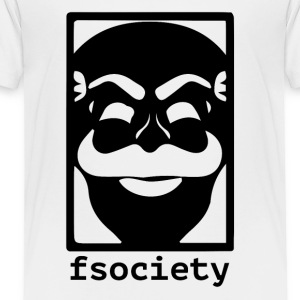 F-Society Mr Robot fsociety Baby & Toddler Shirts - Toddler Premium T-Shirt