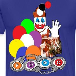 Pogo the Clown John Wayne Gacy T-Shirts - Men's Premium T-Shirt