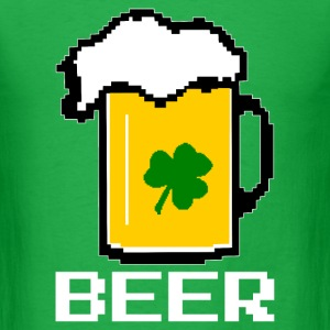 Beer Pixel 8 Bit T-Shirts - Men's T-Shirt