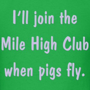 0263 - Pigs Fly - Men's T-Shirt