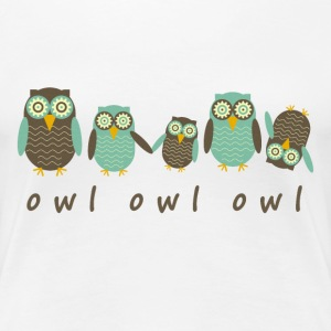 Energetic Owls - Women's Premium T-Shirt