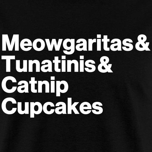 meowgaritas & tunatinis & catnip cupcakes