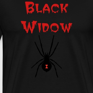 Poochie's Black Widow T-Shirt - Men's Premium T-Shirt