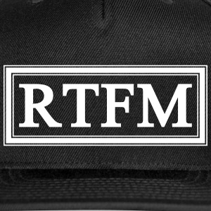 RTFM Caps - Snap-back Baseball Cap
