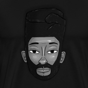 Flat top power fist T-Shirts - Men's Premium T-Shirt