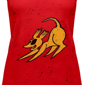 Yellow Dog  - Women's Premium Tank Top