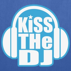Kiss the DJ - Tote Bag