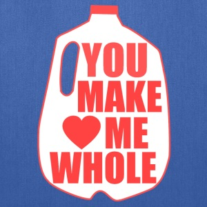 You Make Me Whole - Tote Bag
