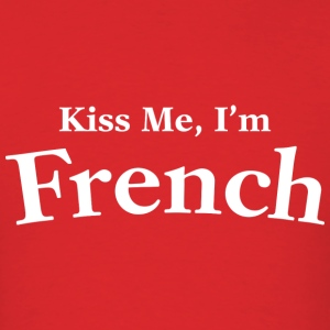Kiss Me I'm French - Men's T-Shirt