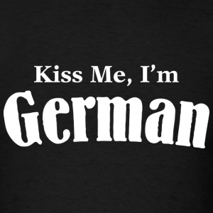Kiss Me, I'm German - Men's T-Shirt