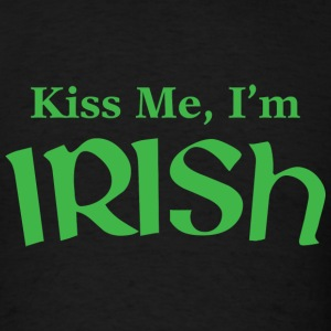 Kiss Me, I'm Irish - Men's T-Shirt