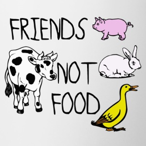 Friends not food - Coffee/Tea Mug