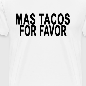 mas_tacos_por_favor - Men's Premium T-Shirt