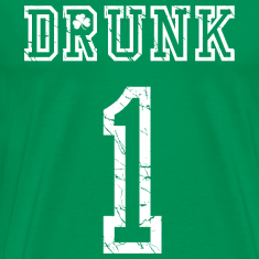 St Patrick's Day Drunk #1