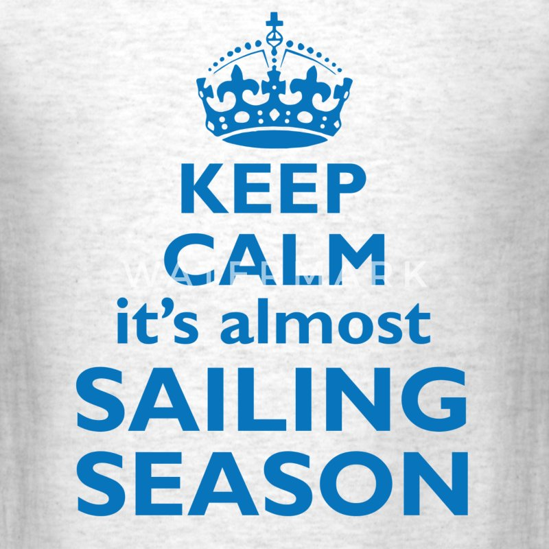 Almost sailing season - Men's T-Shirt