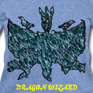 Dragon Wizard - Women's Wideneck Sweatshirt