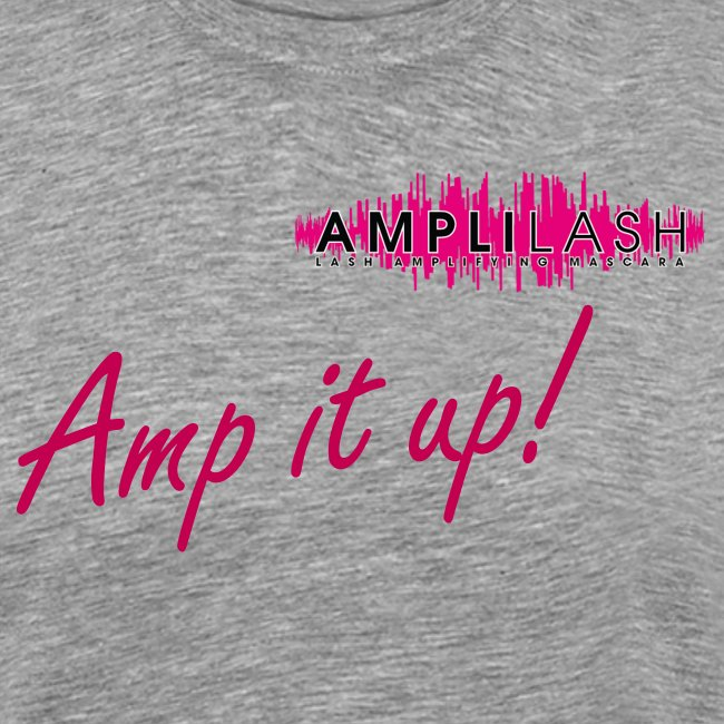 Men's Gray Amp It Up! T-shirt