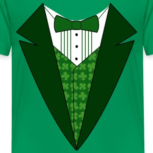Fancy Formal Tuxedo T-Shirt for St. Patrick's Day - Kids' Premium T-Shirt