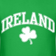 Ireland Three Leaf Clover Tshirt