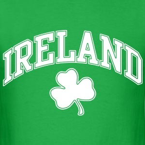 Ireland Three Leaf Clover Tshirt - Men's T-Shirt