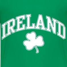 Ireland with Shamrock Tshirt