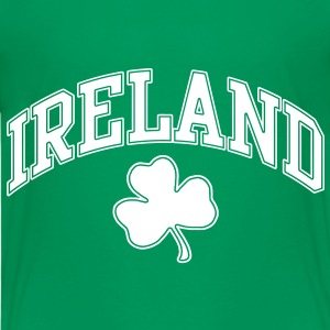 Ireland with Shamrock Tshirt - Kids' Premium T-Shirt