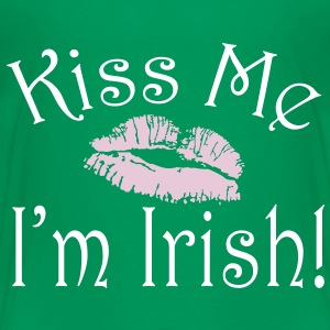 Kiss Me I'm Irish Cute Kids St Patricks Day Shirt - Kids' Premium T-Shirt