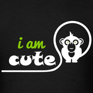 i am cute - Men's T-Shirt