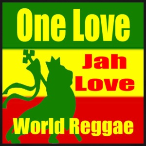 One Love Reggae T Shirt - Men's Premium T-Shirt