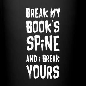 Book Reading Book's spine Reading T Shirt Mugs & Drinkware - Full Color Mug