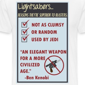 Lightsabers - Men's Premium T-Shirt