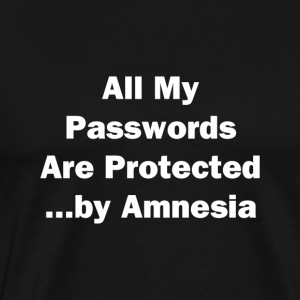 All My Passwords - Men's Premium T-Shirt