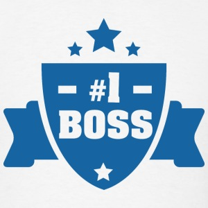 Number 1 Boss - Men's T-Shirt