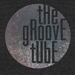 The Groove Tube Vintage Tshirt Black - Unisex Tri-Blend T-Shirt by American Apparel