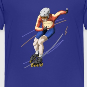 speedskating Baby & Toddler Shirts - Toddler Premium T-Shirt