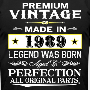 PREMIUM VINTAGE 1989 T-Shirts - Men's T-Shirt by American Apparel