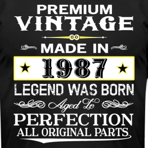 PREMIUM VINTAGE 1987 T-Shirts - Men's T-Shirt by American Apparel