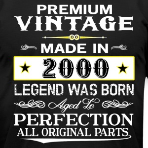 PREMIUM VINTAGE 2000 T-Shirts - Men's T-Shirt by American Apparel