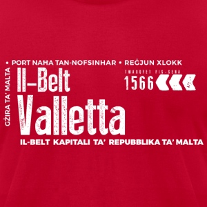 Valletta T-Shirts - Men's T-Shirt by American Apparel