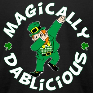 DAB Leprechaun T-Shirts - Men's T-Shirt by American Apparel