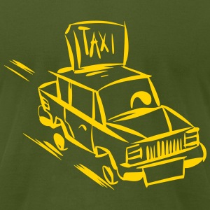 Call me a Taxi - Men's T-Shirt by American Apparel