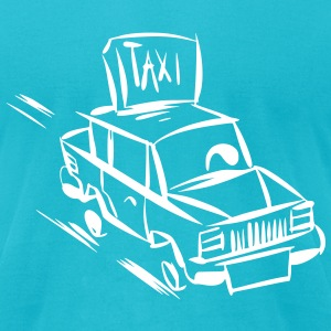 Taxi Taxi Taxi - Men's T-Shirt by American Apparel