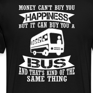 Happiness Split Bus - Men's Premium T-Shirt