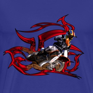 Motocross racer - Men's Premium T-Shirt