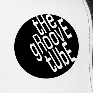 The Groove Tube Trucker Hat Black on White - Trucker Cap