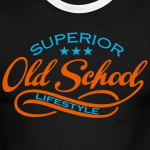 old school  T-Shirts - Men's Ringer T-Shirt